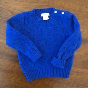 Ralph Lauren Cashmere sweater 24m